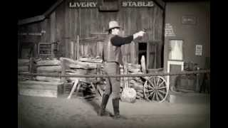 Rawhide Wild West Town FULL Shoot Out Show (2013)  (Black & White)