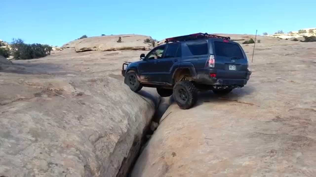 4th Gen 4runner Crossing The Golden Crack Youtube