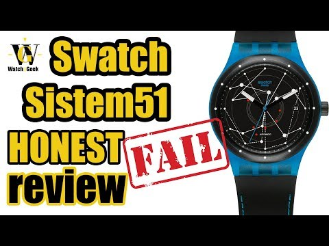 Swatch Sistem 51 - HONEST Review (HR & EN Captions)