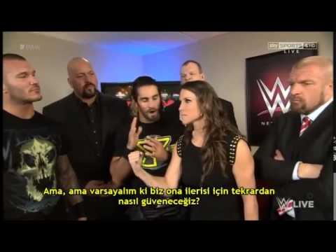 Randy Orton, The Authority İle Bir İş Toplantısına Katılır - Raw Türkçe Çeviri -2