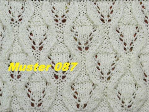 Muster 087*Stricken lernen* Muster für Pullover Strickjacke Mütze Stirnband
