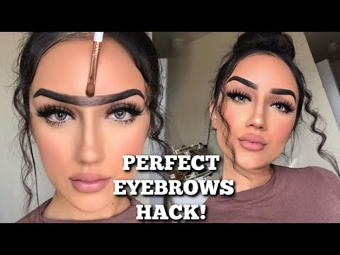 UNIBROW HACK FOR PERFECT BROWS  | EYEBROW TUTORIAL