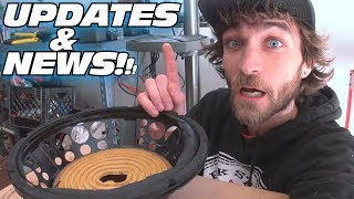 NEW BUILD...  SAME TRUCK!?! EXO Car Audio Sound System Updates & QUICK Solder vs Crimp Question