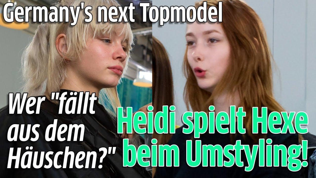 Gntm Umstyling 2018 Heidi Klum Knallhart Viele Lassen