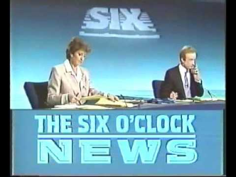 9 O'clock News coverage of BBC news invasion in protest of Section 28