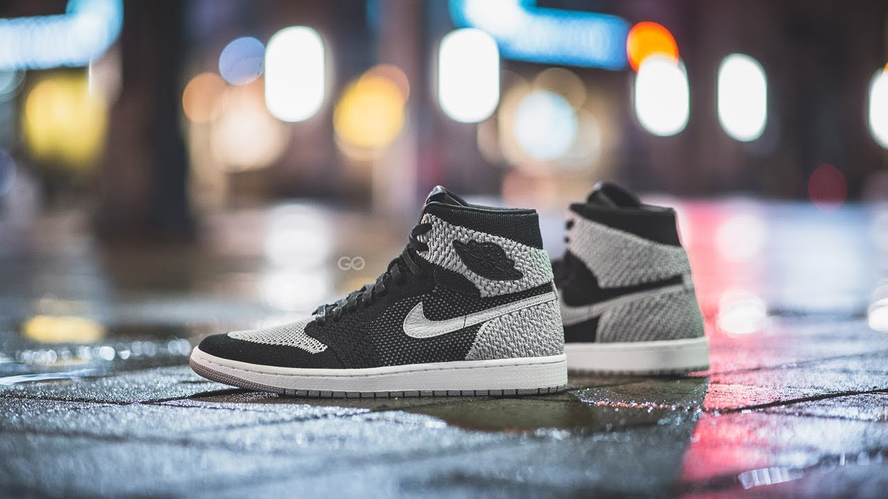 456e4017cc86 Review   On-Feet  Air Jordan 1 Retro High Flyknit