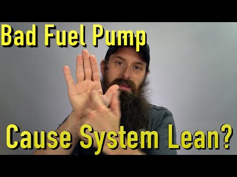 Will a Bad Fuel Pump Cause System Lean Issue?