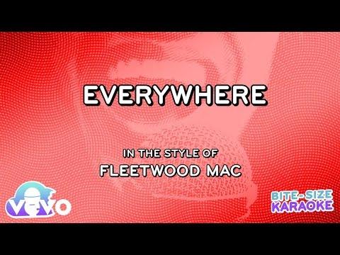 Fleetwood Mac - Everywhere (Bite Size Karaoke)