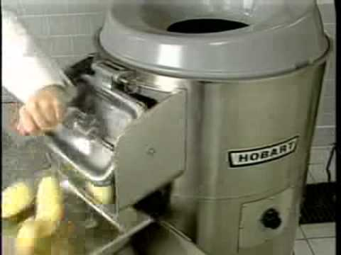 Hobart 6430 6460 Potato Peelers Operation