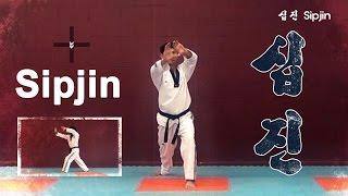 WTF Taekwondo poomsae Sipjin 품새 십진 (taekwonwoo)