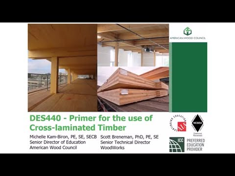 DES440 - Primer for the Use of Cross-Laminated Timber