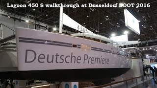 Lagoon 450 S catamaran walkthrough at Dusseldorf BOOT 2016