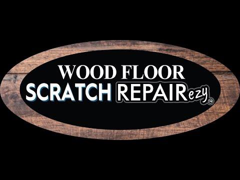 Wood Floor Scratch FIXezy - DIY Repair to Fix Scratches In Wooden Polished Floorboards