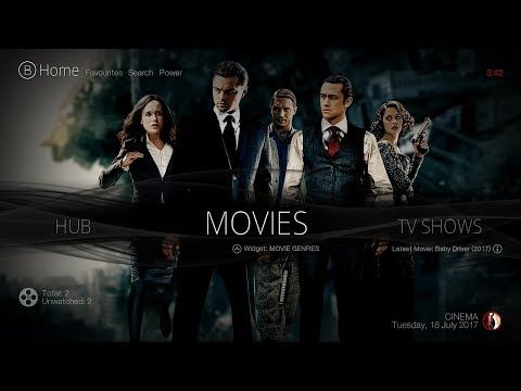 THE BEST KODI BUILD (July 2017) THE CINEMA BUILD FOR KODI 17.3 KRYPTON