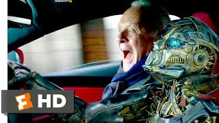 Transformers: The Last Knight (2017) - Robot Road Rage Scene (6/10) | Movieclips