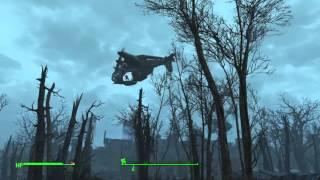 Fallout 4 Vertibird crash