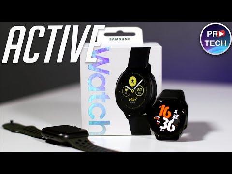 Galaxy Watch Active - лучшие недорогие умные часы от Samsung? Обзор и опыт использования
