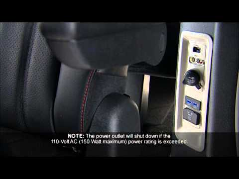 2013 Dodge Grand Caravan Electrical Power Outlets YouTube