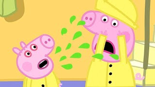 Peppa Pig Full Episodes | George Catches a Cold  | Cartoons for Children