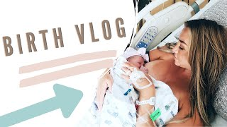 BIRTH VLOG | LABOR & DELIVERY OF OUR FIRST BABY