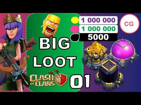 COC Loot Attack | Searching for Big Easy Loot Base | Episode 1 | Clash of Clans
