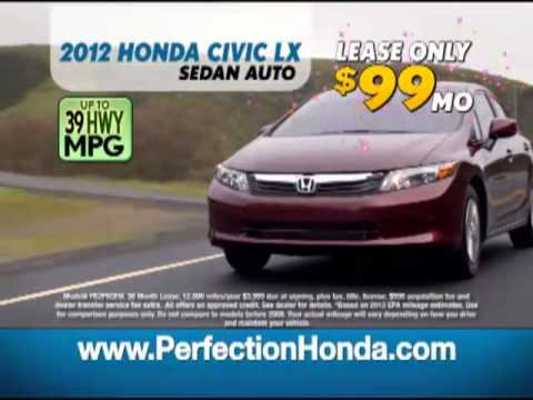 Perfection Honda President's Day Sale 2013- Accord.mp4