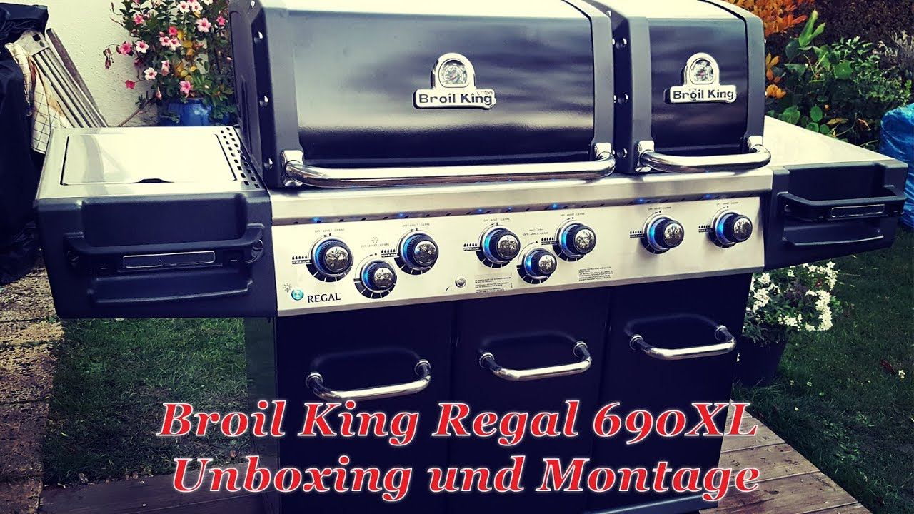 Rösle Gasgrill Xl : 267: broil king regal 690xl unboxing & montage youtube