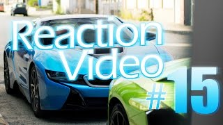 REACTION Video #15:  BMW i8--Oh Sh*t! Oh, Sh*t!!(You asked for it--now a REACTION video from the BMW i8. This car confuses people so much especially when its in electric mode. Other i8 reaction videos to ..., 2016-05-12T15:30:00.000Z)
