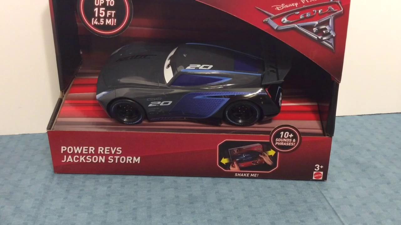 Disney Cars 3 Jackson Storm Vehicle Mattel FDG53