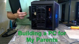 Building a PC for My Parents - Using the AMD 3400G,  Gigabyte B450 itx board and more.