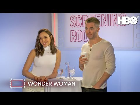 Download Youtube: Gal Gadot & Chris Pine Talk Wonder Woman (2017 Movie) | HBO