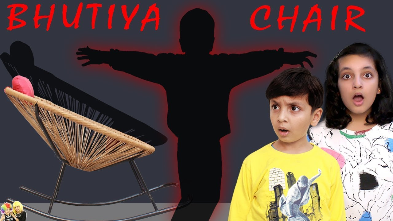 Download BHUTIYA CHAIR Horror Movie #Bloopers #Funny | Short movie for kids | Aayu and Pihu Show