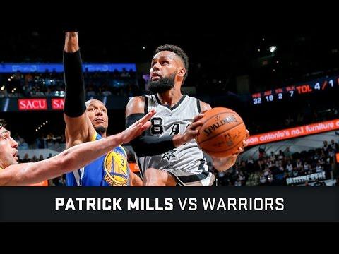 Patrick Mills Highlights: 21 PTS, 4 AST, 1 STL vs Warriors (11.03.2017)