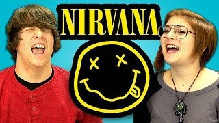 TEENS REACT TO NIRVANA thumbnail