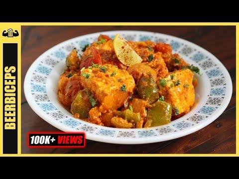 HEALTHY Paneer Tikka Masala - Indian Bodybuilding Recipes | BeerBiceps Vegetarian