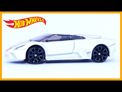 Hot Wheels Lamborghini Reventon Roadster (1 Minute Car Review)