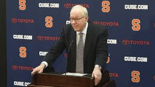 Jim Boeheim's first comments since fatal accident