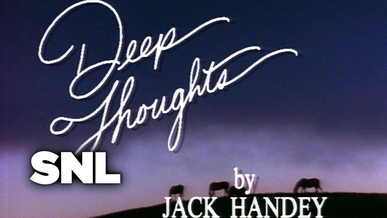 Deep Thoughts: Grandpa's Farm - Saturday Night Live