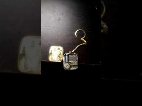 Sankyo vintage  keychain music box:-)
