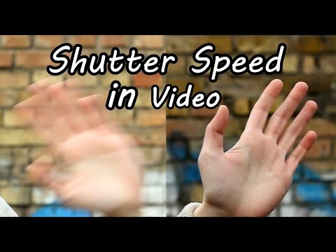 How to Use Shutter Speed in Video on DSLR Camera - Exposure Tutorial and Comparison