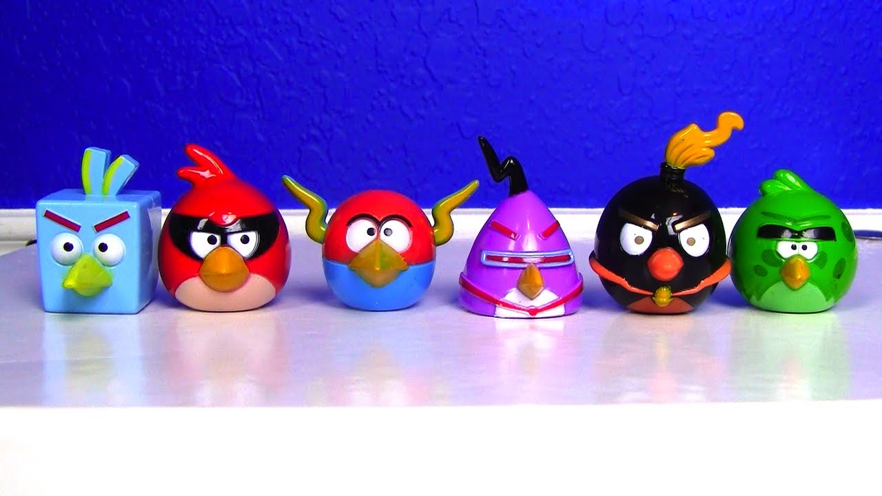 Awesome angry birds space toy with red laser youtube voltagebd Images