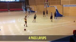 Skills 4 pass layups