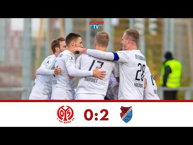 1. FSV Mainz 05 U23 - TSV Steinbach Haiger 0:2 (Regionalliga Südwest 2019/20 I #M05TSV )