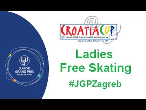 2015 ISU Junior Grand Prix - Zagreb Ladies Free Skate