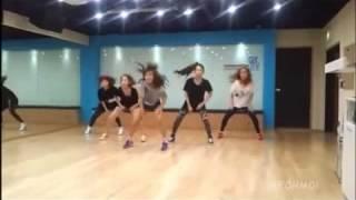 Wonder Girls - The DJ is Mine (Mirrored Dance Practice)