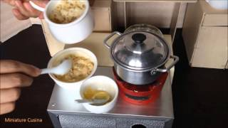 Miniature Cooking: Baked Macaroni & Cheese (mini Food)