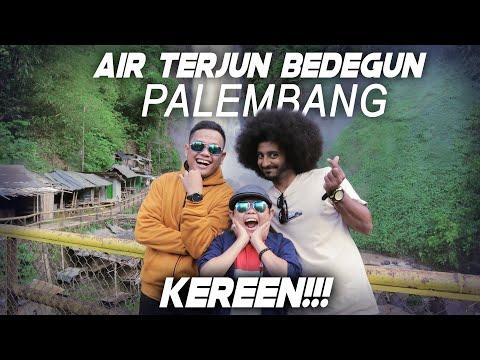 liburan-ke-air-terjun-bedegun-di-palembang-#ikramafro-#palembang