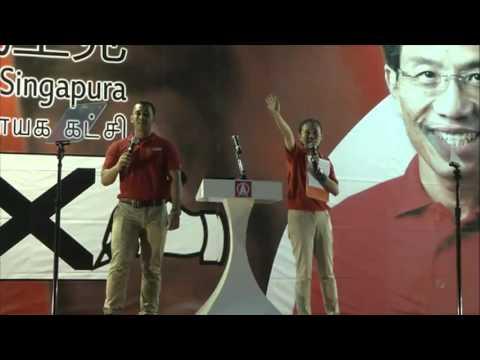 LIVE: SDP Rally, Bukit Batok Industrial Park A, May 5, 2016