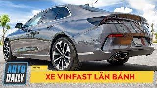 Giây phút khách hàng nhận xe VinFast Lux, chạy thử và lái thẳng về nhà
