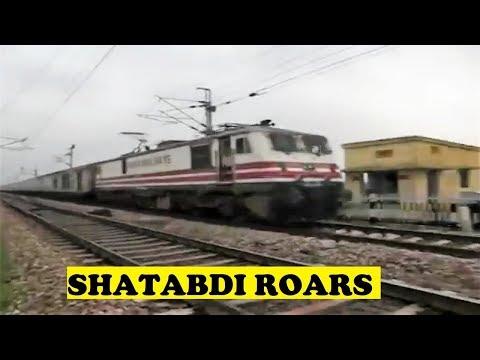 WAP5 Bhopal Shatabdi India